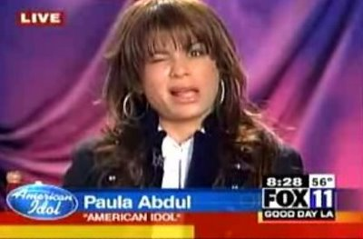 Poor Paula! America will be a cold hearted snake this morning