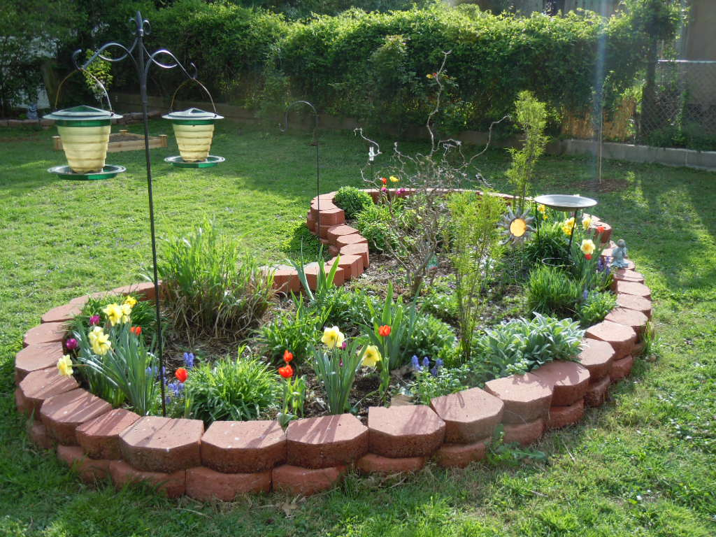 Interior decorating pics flower beds for Flower bed design ideas