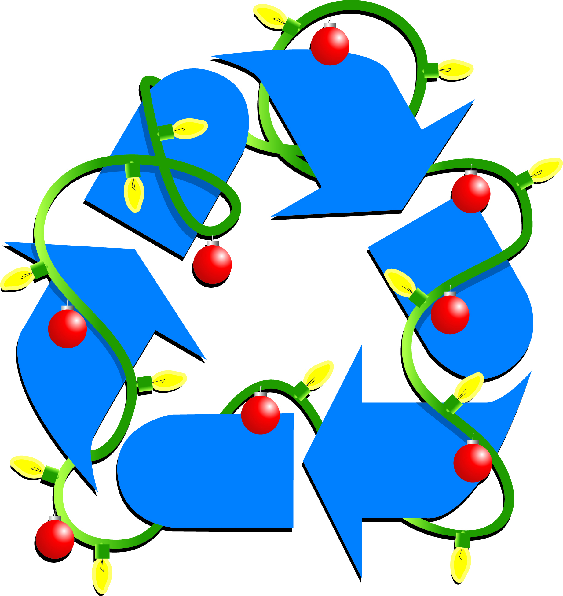 Recycle Christmas Lights.Recycling Christmas The Lone Writer Shannon Yarbrough