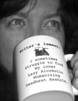 kel with mug