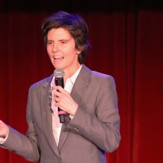onstage at Variety's 5th annual Power of Comedy presented by TBS benefiting the Noreen Fraser Foundation at The Belasco Theater on December 11, 2014 in Los Angeles, California.